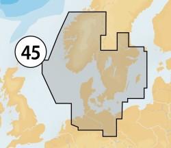 Navionics MSD/NAV+ 45XG Skagerrak & Kattegat
