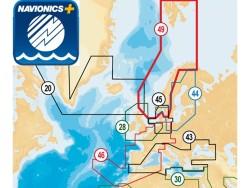 Navionics NAV+ sjøkart for nedlasting