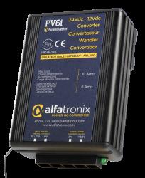 ALFATRONIX PV6i - Spenningsomformer 24V til 13.6V 6/10A m/galvansik skille