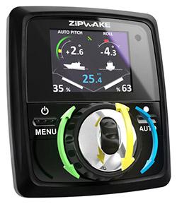 Zipwake kontrollpanel