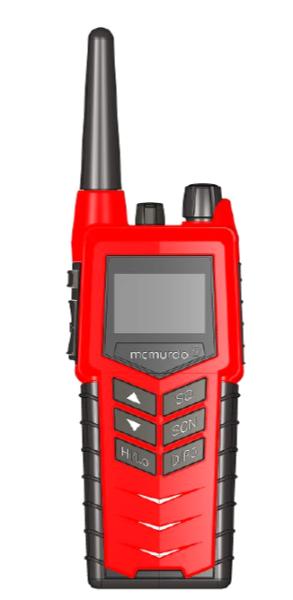 McMurdo R8F Radio – png