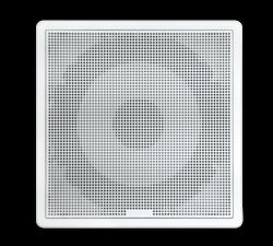 FUSION FM-S10SW subwoofer - firkantet hvit